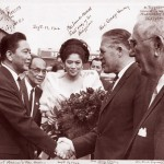 September 19, 1966, Detroit Free Press. My Dad is in between President Ferdinand Marcos of the Philippines and First Lady, Imelda Marcos.